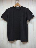 【HIROYUKI OBARA】USC POCKET T-SHIRT(BLACK)