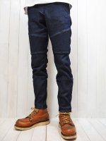 【HIROYUKI OBARA】SOFT STRETCH DENIM RIDING PANTS(INDIGO)