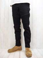 【HIROYUKI OBARA】SOFT STRETCH DENIM RIDING PANTS(BLACK)