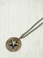 【amp japan】Bump Out Star Dime Necklace