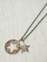 ☆予約商品【amp japan】Cut star Dime Necklace