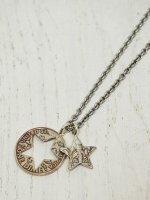 ☆予約商品【amp japan】Cut star Dime Necklace