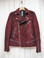<img class='new_mark_img1' src='https://img.shop-pro.jp/img/new/icons14.gif' style='border:none;display:inline;margin:0px;padding:0px;width:auto;' />【STRUM】SUEDE HORSEHIDE W RIDERS JKT