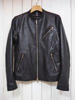 【STRUM】OIL CALF LEATHER SINGLE RIDERS JKT