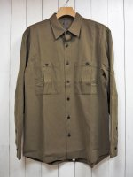 <img class='new_mark_img1' src='https://img.shop-pro.jp/img/new/icons14.gif' style='border:none;display:inline;margin:0px;padding:0px;width:auto;' />【STRUM】SUPIMA TENCEL GABA MILITARY SHIRT