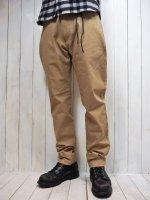 【STRUM】STRETCH TWILL TAPERED PANTS(BEIGE)