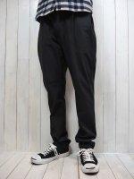 【STRUM】STRETCH TWILL TAPERED PANTS(BLACK)