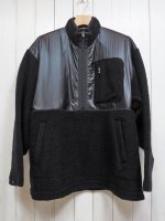 【SEVESKIG】THERMO ZIP PULLOVER SHIRT(BLACK)