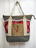 【GRAB IN HOLLYWOOD】NATIVE BLANKET TOTE BAG