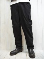 <img class='new_mark_img1' src='https://img.shop-pro.jp/img/new/icons14.gif' style='border:none;display:inline;margin:0px;padding:0px;width:auto;' />【PRO5】HEAVY FLEECE CARGO PANTS(BLACK)