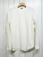 【FIVE BROTHER】C/N THERMAL SHIRT(WHITE)