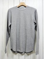 【FIVE BROTHER】C/N THERMAL SHIRT(GRAY)