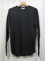 【FIVE BROTHER】C/N THERMAL SHIRT(BLACK)