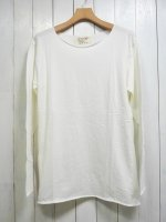 【GRAB IN HOLLYWOOD】ALL CUT L/S(ONE WASH WHITE)