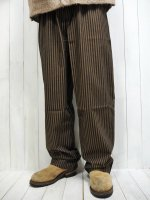 <img class='new_mark_img1' src='https://img.shop-pro.jp/img/new/icons14.gif' style='border:none;display:inline;margin:0px;padding:0px;width:auto;' />【UNCOMMON Threads】YARN DYED CHEF PANTS(COOPER with BLACK STRIPE)