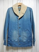 <img class='new_mark_img1' src='https://img.shop-pro.jp/img/new/icons14.gif' style='border:none;display:inline;margin:0px;padding:0px;width:auto;' />【AYUITE】SOFT STRETCH DENIM SHAWL COLLAR JACKET