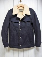 <img class='new_mark_img1' src='https://img.shop-pro.jp/img/new/icons14.gif' style='border:none;display:inline;margin:0px;padding:0px;width:auto;' />【AYUITE】MELTON BOA RANCH JACKET