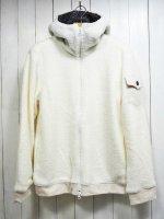 【AYUITE】SHEEP JERSEY ZIP HOODY(WHITE)