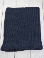 【COLUMBIA KNIT】BULKY KNIT NECK GAITERS(NAVY)