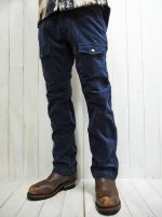 <img class='new_mark_img1' src='https://img.shop-pro.jp/img/new/icons14.gif' style='border:none;display:inline;margin:0px;padding:0px;width:auto;' />【AYUITE】STRETCH VELVETEEN BUSH PANTS(NAVY)