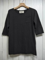 【GRAB IN HOLLYWOOD】ALL CUT H/S w/POCKET(BLACK)