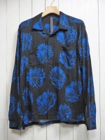 <img class='new_mark_img1' src='https://img.shop-pro.jp/img/new/icons14.gif' style='border:none;display:inline;margin:0px;padding:0px;width:auto;' />【STRUM】DAHLIA PRINTED RAYON SILK L/S SHIRT