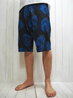 <img class='new_mark_img1' src='https://img.shop-pro.jp/img/new/icons14.gif' style='border:none;display:inline;margin:0px;padding:0px;width:auto;' />【STRUM】DAHLIA PRINTED RAYON SILK SHORTS