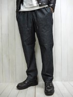 <img class='new_mark_img1' src='https://img.shop-pro.jp/img/new/icons14.gif' style='border:none;display:inline;margin:0px;padding:0px;width:auto;' />【FIVE BROTHER】CHAMBRAY EASY PANTS(BLACK)