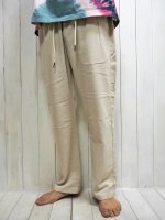 <img class='new_mark_img1' src='https://img.shop-pro.jp/img/new/icons14.gif' style='border:none;display:inline;margin:0px;padding:0px;width:auto;' />【FIVE BROTHER】LINEN EASY PANTS(NATURAL)