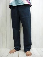 <img class='new_mark_img1' src='https://img.shop-pro.jp/img/new/icons14.gif' style='border:none;display:inline;margin:0px;padding:0px;width:auto;' />【FIVE BROTHER】LINEN EASY PANTS(NAVY)