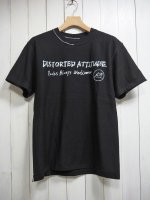 【JOHNNY BUSINESS】Distorted Attitude & Punks Always Welcome Tee