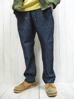 <img class='new_mark_img1' src='https://img.shop-pro.jp/img/new/icons14.gif' style='border:none;display:inline;margin:0px;padding:0px;width:auto;' />【FIVE BROTHER】CHAMBRAY EASY PANTS(BLUE)