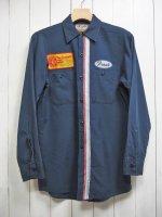 【Vintage】1980's RED CAP CUSTOM WORK SHIRT