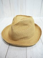 <img class='new_mark_img1' src='https://img.shop-pro.jp/img/new/icons14.gif' style='border:none;display:inline;margin:0px;padding:0px;width:auto;' />【SANFRANCISCO HAT】SLOUCH TRILBY(GOLD)
