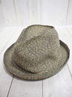 【SANFRANCISCO HAT】SLOUCH TRILBY(BLACK MIX)