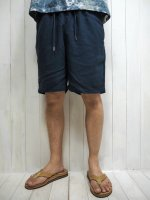 <img class='new_mark_img1' src='https://img.shop-pro.jp/img/new/icons14.gif' style='border:none;display:inline;margin:0px;padding:0px;width:auto;' />【FIVE BROTHER】LINEN EASY SHORTS(NAVY)