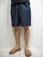 <img class='new_mark_img1' src='https://img.shop-pro.jp/img/new/icons14.gif' style='border:none;display:inline;margin:0px;padding:0px;width:auto;' />【FIVE BROTHER】CHAMBRAY EASY SHORTS(BLUE)