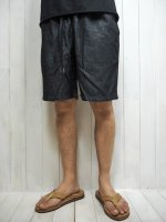 <img class='new_mark_img1' src='https://img.shop-pro.jp/img/new/icons14.gif' style='border:none;display:inline;margin:0px;padding:0px;width:auto;' />【FIVE BROTHER】CHAMBRAY EASY SHORTS(BLACK)