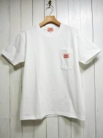 <img class='new_mark_img1' src='https://img.shop-pro.jp/img/new/icons14.gif' style='border:none;display:inline;margin:0px;padding:0px;width:auto;' />【BIG MIKE】SUNGLASSES POCKET TEE(WHITE)