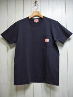 <img class='new_mark_img1' src='https://img.shop-pro.jp/img/new/icons14.gif' style='border:none;display:inline;margin:0px;padding:0px;width:auto;' />【BIG MIKE】SUNGLASSES POCKET TEE(NAVY)