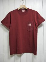 <img class='new_mark_img1' src='https://img.shop-pro.jp/img/new/icons14.gif' style='border:none;display:inline;margin:0px;padding:0px;width:auto;' />【BIG MIKE】SUNGLASSES POCKET TEE(MAROON)