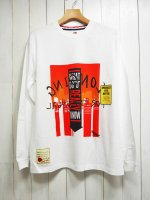 【SEVESKIG】TO TREAT WITH RESPECT L/S TEE with texta8000(WHITE)