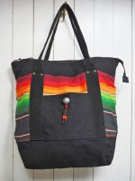 【GRAB IN HOLLYWOOD】MEXICAN TOTE BAG /B