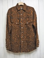 <img class='new_mark_img1' src='https://img.shop-pro.jp/img/new/icons14.gif' style='border:none;display:inline;margin:0px;padding:0px;width:auto;' />【AYUITE】FLOWER JACQUARD DOLMAN WESTERN SHIRT