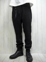 <img class='new_mark_img1' src='https://img.shop-pro.jp/img/new/icons14.gif' style='border:none;display:inline;margin:0px;padding:0px;width:auto;' />【STRUM】VELOUR LIKE KNIT JERSEY PANTS(BLACK)