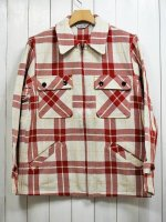 <img class='new_mark_img1' src='https://img.shop-pro.jp/img/new/icons14.gif' style='border:none;display:inline;margin:0px;padding:0px;width:auto;' />【FIVE BROTHER】EX HEAVY FLANNEL C.P.O. SHIRT(WHITE CHECK)