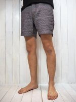 【Burnout×Morning Glow】別注QUILT CHAMBRAY SHORTS