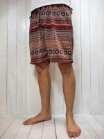 【Special】JACQUARD EASY SHORTS(LIGHT BROWN)