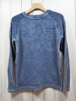 <img class='new_mark_img1' src='//img.shop-pro.jp/img/new/icons16.gif' style='border:none;display:inline;margin:0px;padding:0px;width:auto;' />【Burnout】JACQUARD KNIT PULLOVER
