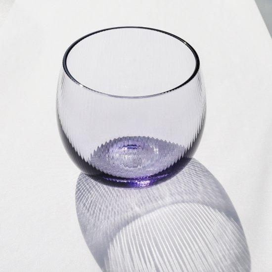 丸グラス 濃紫 千本モール